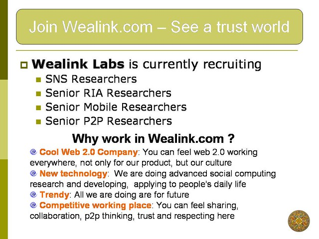 Wealink.com job openings - www.wealink.com labs.wealink ...