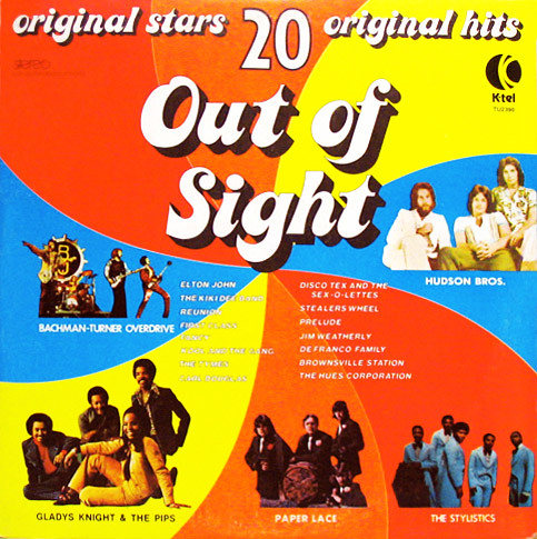 Out Of Sight K Tel 1975 Side One Saturday Night S