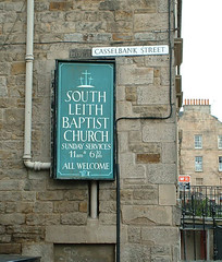 So Leith Baptist Church sign | by killearnan