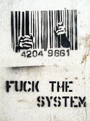 FUCK THE SYSTEM | by fuzziwuzzi
