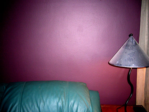 New living room wall color = Eggplant/Wine | dan10things | Flickr