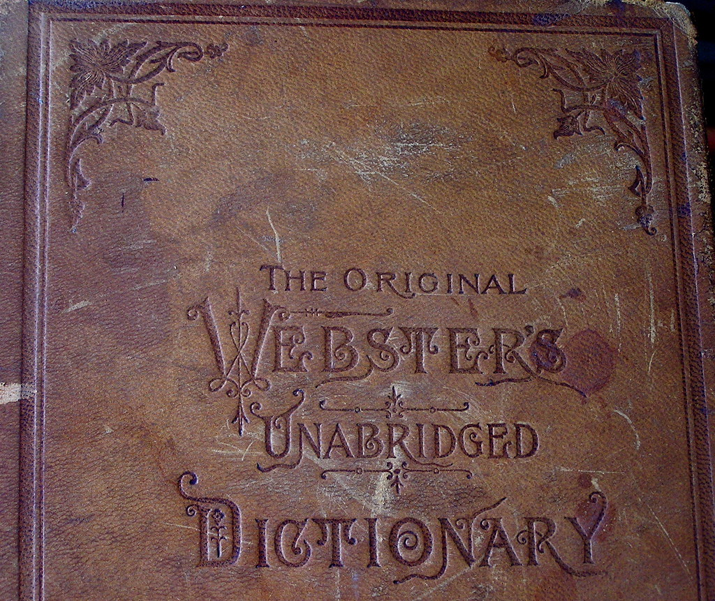 Old English Book Cover : Dictionary cover liz west flickr
