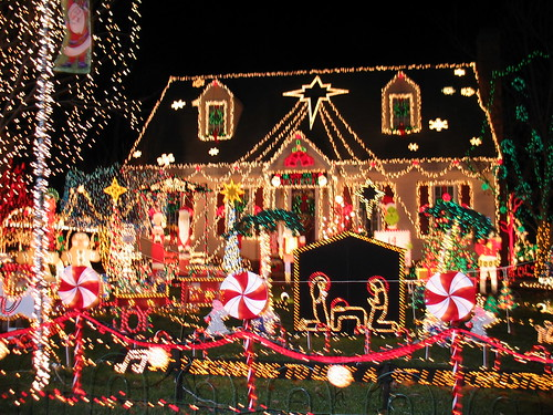 Christmas lights - house | by blue ridge laughing
