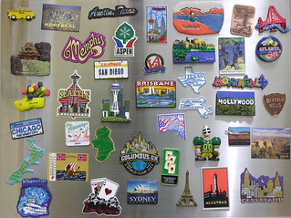 My International Fridge Magnet Collection | by Dave Gorman