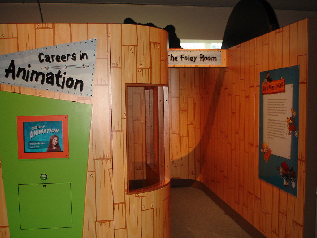 Exhibition Booth Animation : Cartoon network exhibit at omsi in portland check out