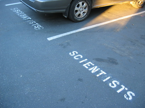 SCIENTISTS PARKING ONLY | by pheezy