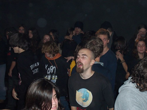 Me at rock Xmass 2005 Tg-Mures | by mapopa
