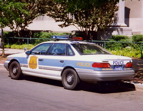 1990 Ford Taurus >> Ford Police Car | An early 1990's Ford Taurus of the Washing… | Flickr