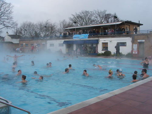 Hampton Open Air Pool On Xmas Day Adrian Miller Flickr