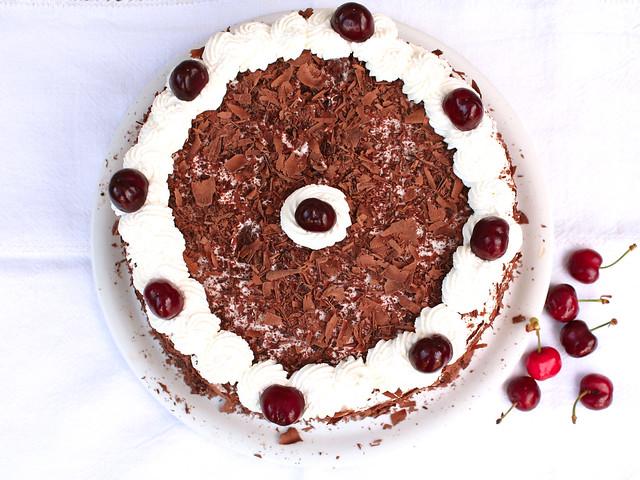 Torta Cioccolato e Ciliegie Bimby: Foresta Nera