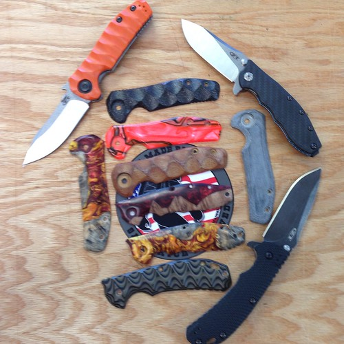 Custom ZT Scales in stock at USA Made Blade | Bushcraft USA