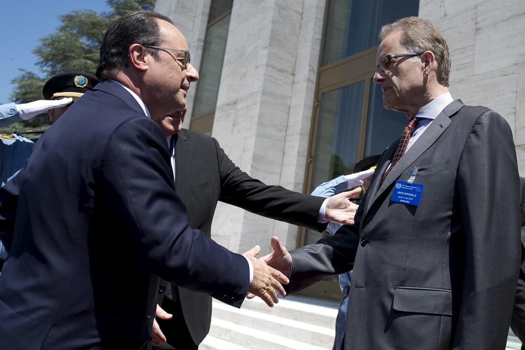 President of France official visit