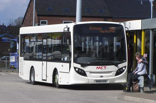 Enviro200 MCT Travel MX62 AVV, Ashton-under-Lyne bus station