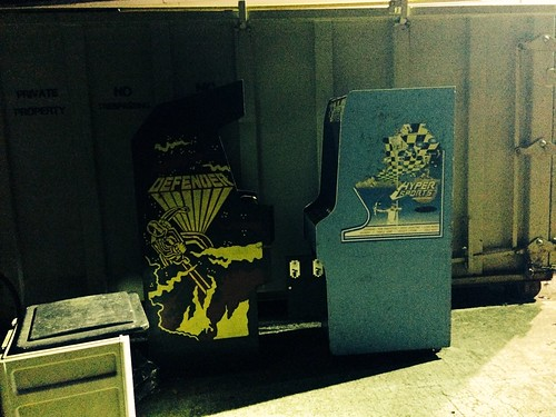 Arcades by the Dumpster (June 23 2014)