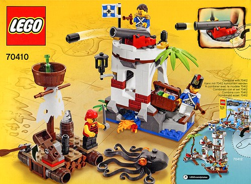 LEGO Pirates 70410 Soldiers Outpost box03