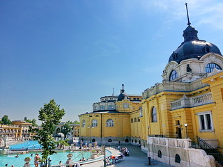 Széchenyi Thermal Bath | by Thanate Tan