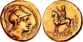 Gold Aureus Honoring Sulla