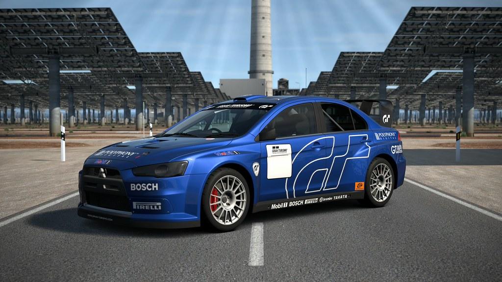 Gran Turismo 6 Mitsubishi Lancer Evo X Rally Car Flickr