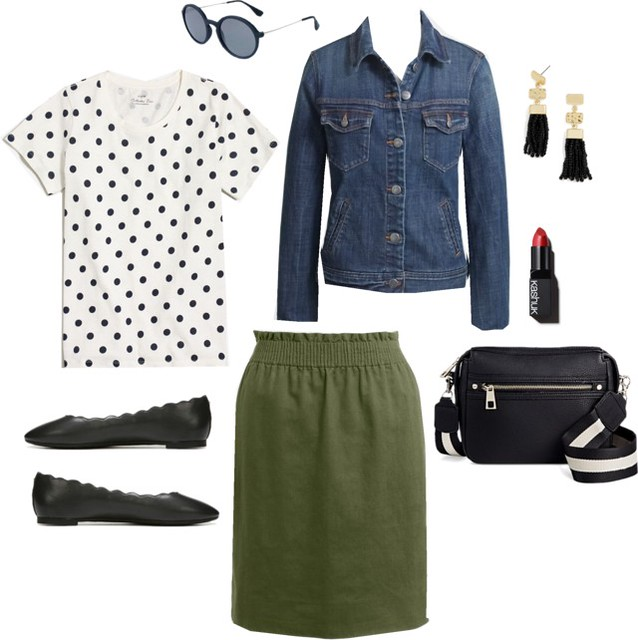 What I Wish I Wore, Vol. 172 - Scalloped Polka Dots   Style On Target blog