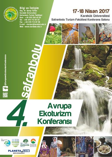 4th European Ecotourism Conference - Safranbolu, Turkey #EuroEco17
