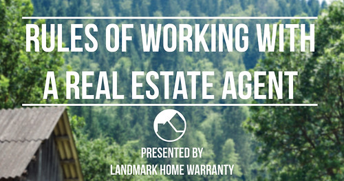 rules of working with a real estate agent from the best home warranty banner