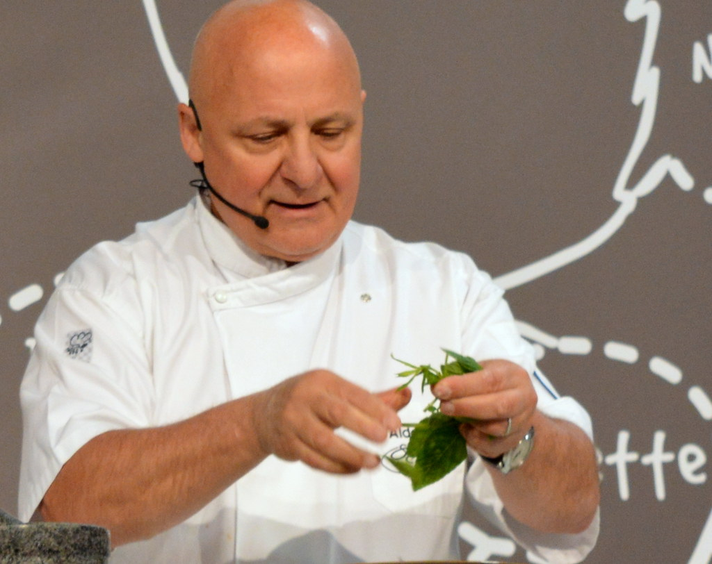 chef aldo zilli at ideal home show 2015 manchester flickr