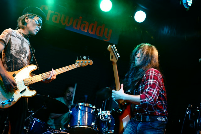 O.E. Gallagher live at Crawdaddy Club, Tokyo, 14 Jun 2015. 053