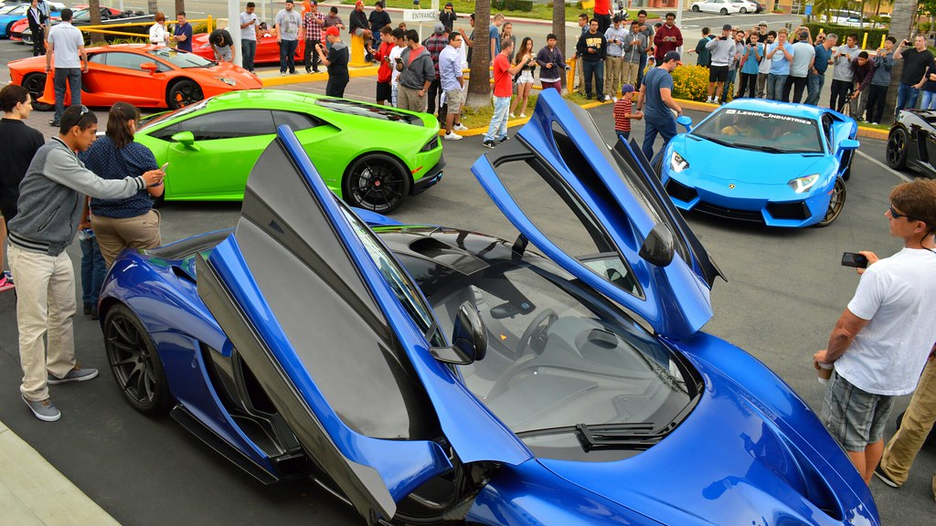 Lamborghini Newport Beach Car Show Jelly Beans Spencer Allison