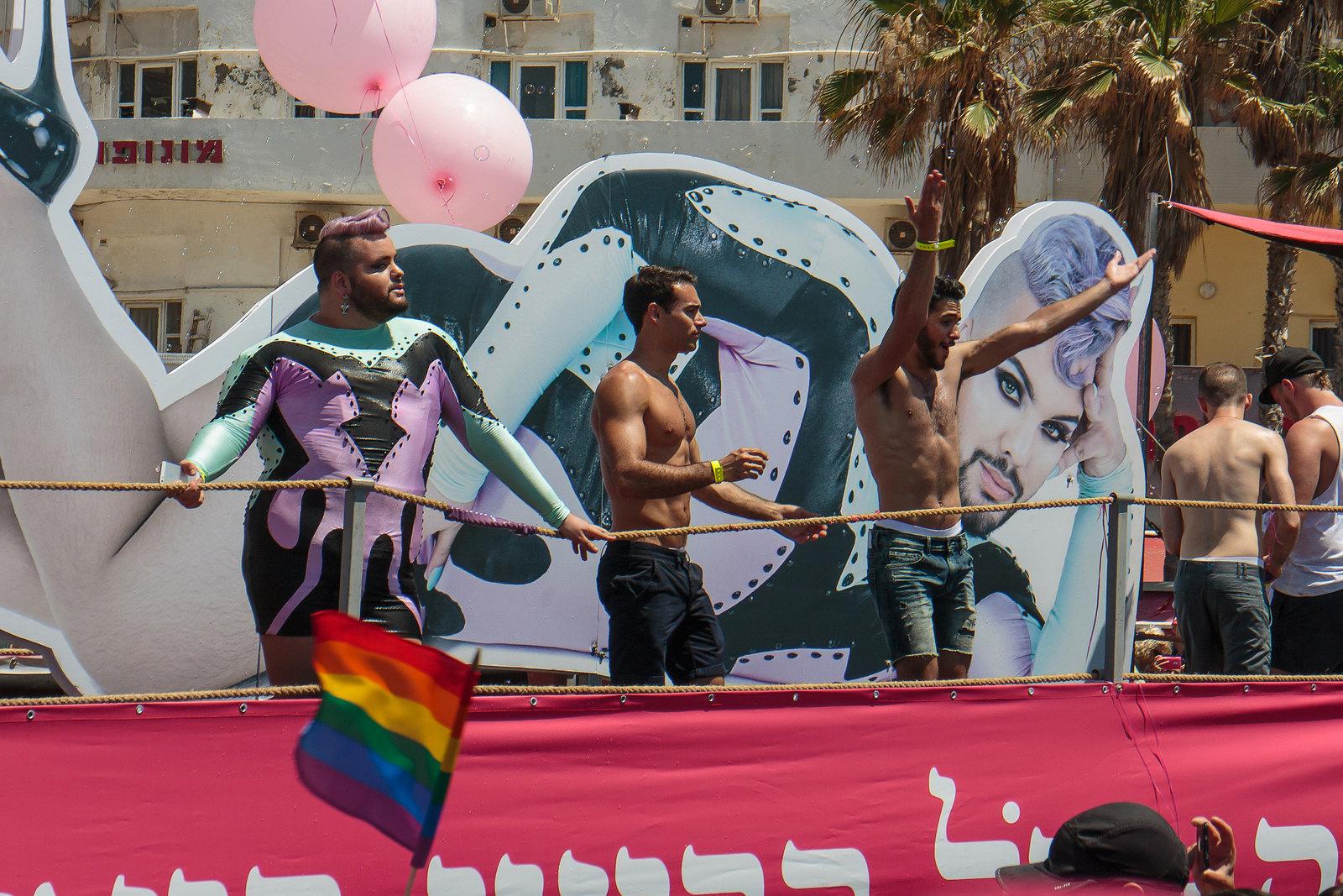 טיילת תל אביב במצעד הגאווה