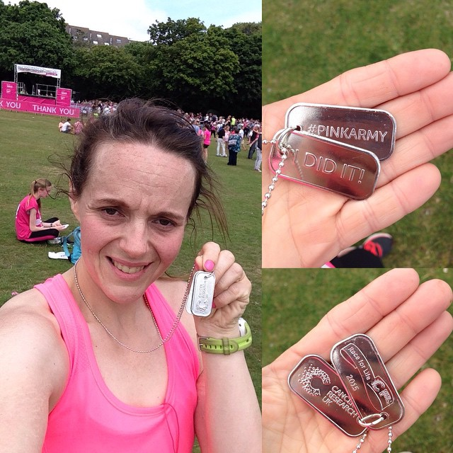 Race for life done! And a #pb too! #raceforlife #poole #poolepark #cruk #sweatyselfie