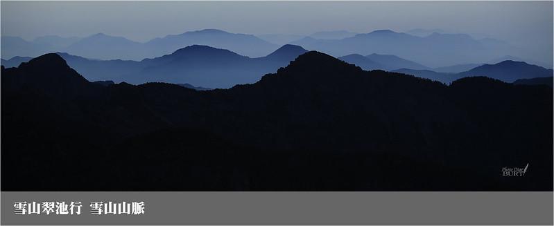 雪山翠池行_雪山山脈