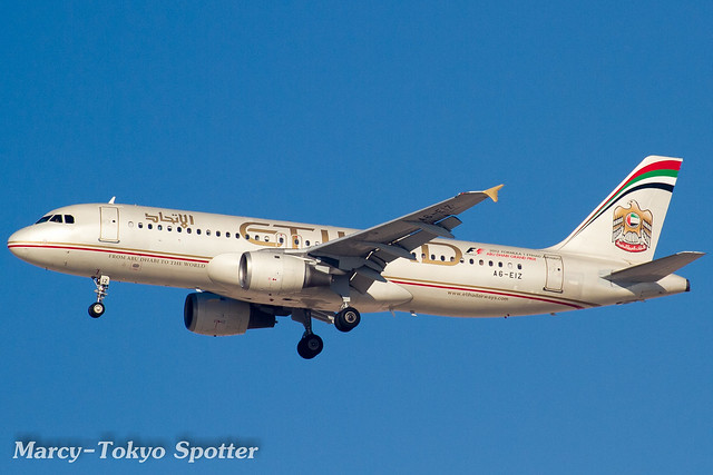 Etihad Airways / A320-211 / A6-EIZ