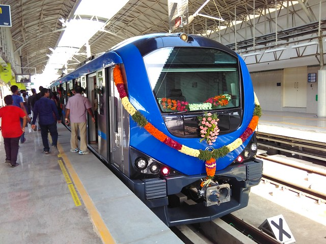 Chennai-Metro-View-from-Outside-Drivers-Cabin
