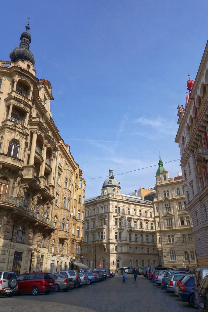 Side street, Prague, Czech Republic