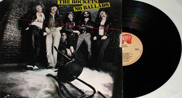 "THE ROCKETS NO BALLADS 12"" LP"