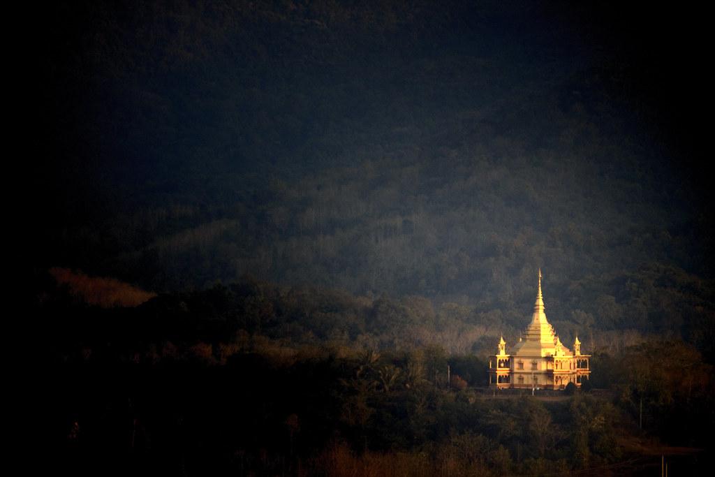 A Stupa In Luang Prabang, Laos