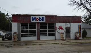 Old Mobil Station