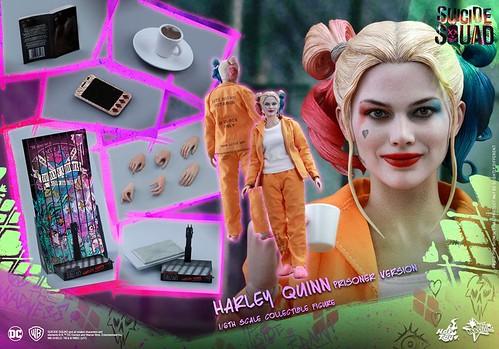 Harley Quinn (Prisoner Version) in 1/6 by Hot Toys