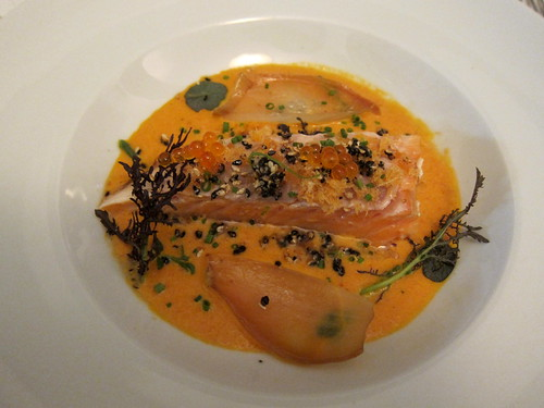Salmon in a Smoked Tomato Sauce