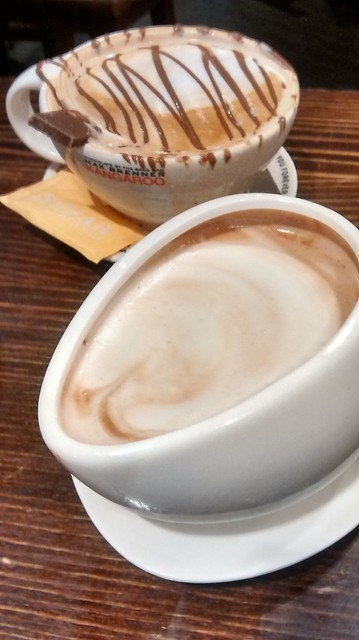 coffee and hot chocolate max brenner
