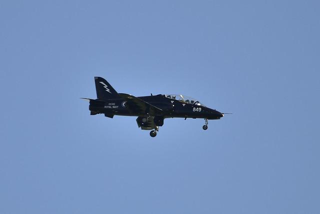XX316/849-CU Hawk T.1A (Navy 853)