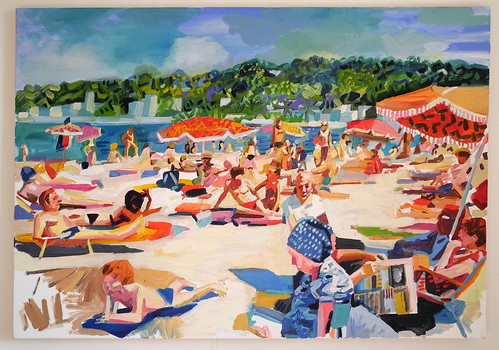 beach scene ( in progress)