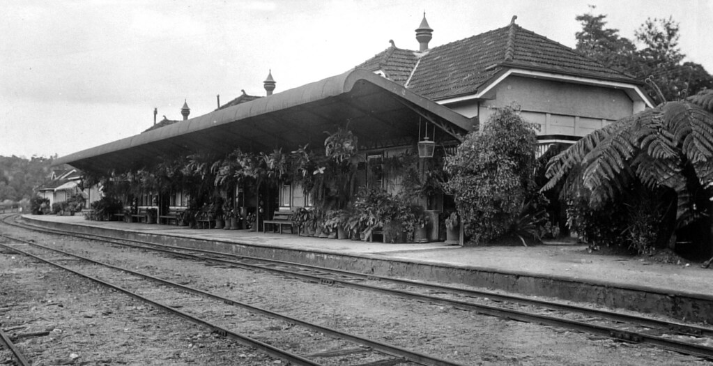 Railway Station Kuranda Nq C 1935 The Sydney Morning