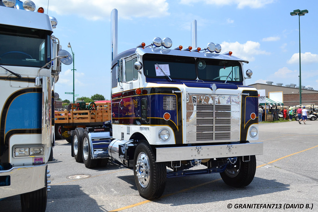 1956 Kenworth Kcd523c Tractor Trucks Buses Amp Trains By