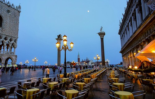 Café on Piazza San Marco in Venice