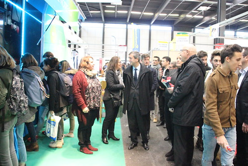 Inauguration du salon du lyc en et de l 39 etudiant 06 01 201 for Salon de l etudiant bordeaux