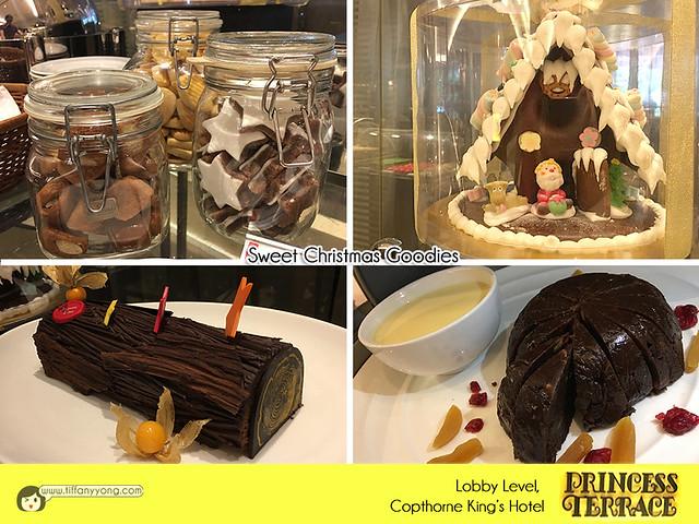 Copthorne Kings Princess Terrace Christmas goodies