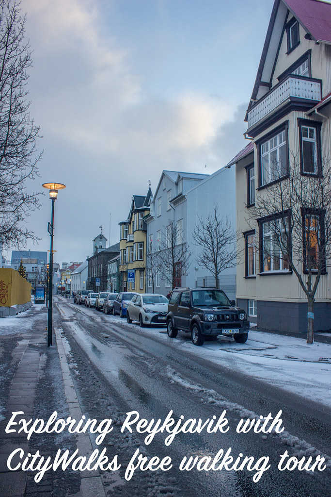 Exploring Reykjavik with CityWalks' free walking tour