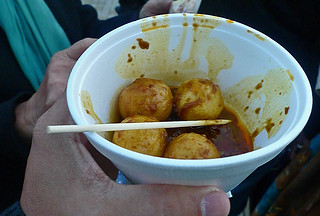 Lantau - Curry fish balls