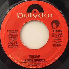 JAMES BROWN:WOMAN(LABEL SIDE-A)